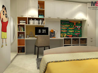 Patel Nagar:  Bedroom by Matter Of Space Pvt. Ltd.