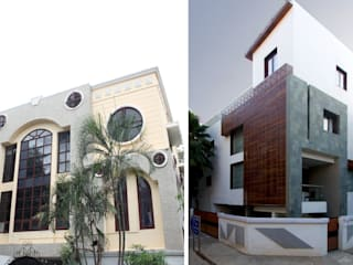 Rumah Modern Oleh CARTWHEEL Modern