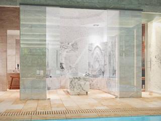 Steam Bath by Comelite Architecture, Structure and Interior Design