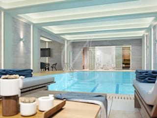 VIP Home Spa Design Modern Pool by Comelite Architecture, Structure and Interior Design Modern