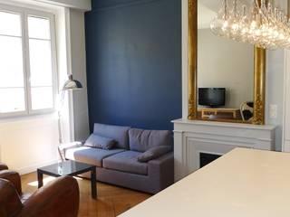 Appartement 55 m2 Salon classique par RB CONCEPT Classique