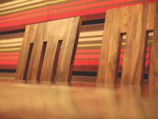 Ruang Makan Modern Oleh CARTWHEEL Modern