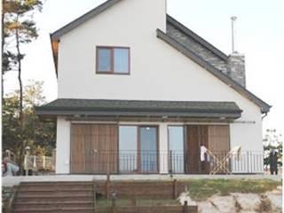 집 한채가 그대로 나무와 같은 목조주택  : LNH의  목조 주택