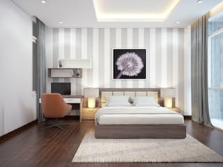 Asian style bedroom by DCOR Asian