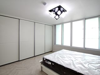 Modern style bedroom by 한 인테리어 디자인 Modern