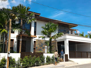 Facade of RS Residence:  Single family home by Ar. Kristoffer D. Aquino