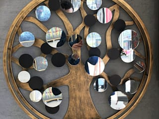 Atl Dekor – Aynalı Ağaç Duvarlık:  tarz