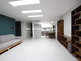 Salas de estilo  por 한 인테리어 디자인