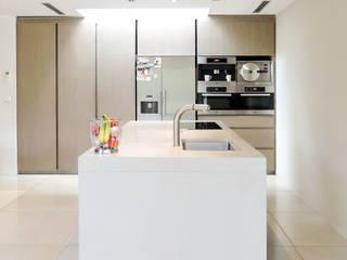 Interieur beton op maat:  Keuken door Betonal, Modern