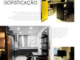 Cocinas de estilo moderno de TODDO Arquitetura e Engenharia Moderno
