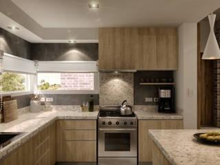 Cocina de WE ARQUITECTURA Moderno Granito