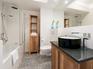 Biendesign Pracownia Wnętrz Modern style bathrooms