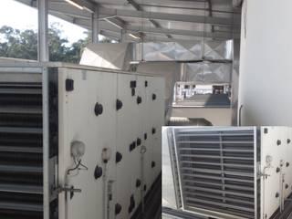 UTAN1 - Unidades de tratamento Ar com Bypass e recuperação de fluxos cruxados com ventiladores PlugFan:   por EUROLESS ENGENHARIA