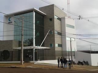 Edifício Corporativo: Edifícios comerciais  por Fermatta Arquitetura+Planejamento