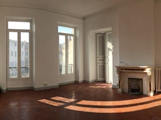 Rénovation Breteuil Salon classique par Claire de Bodinat / Archidesign Classique