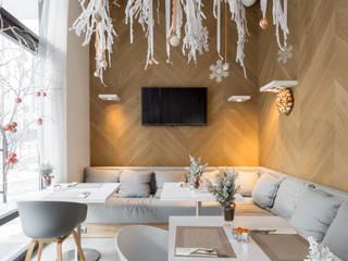 projekt Menu bistro: styl , w kategorii Gastronomia zaprojektowany przez Dmowska design