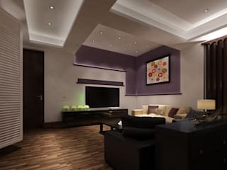 Living Area Modern Design Modern Walls and Floors by TK Designs Modern