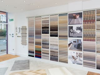 Fulham & Chelsea Flooring Company:  Offices & stores by The Flooring Group