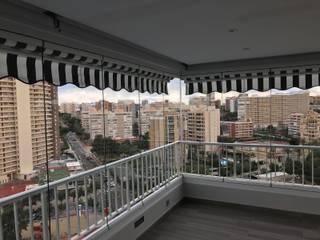 Viseka Modern Terrace Glass Transparent