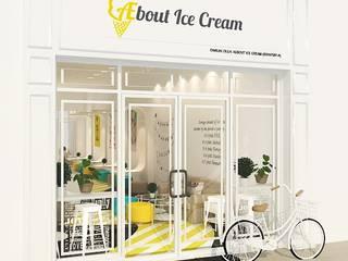 Aebout Ice Cream Shop by Kiwi Interior Sdn Bhd Modern