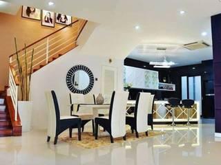 Parkland Modern dining room by Kiwi Interior Sdn Bhd Modern