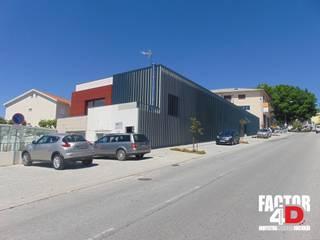 Maisons modernes par Factor4D - Arquitetura, Engenharia & Construção Moderne