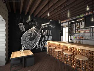 Restaurante PLAJÉ RG Arq & Deco Gastronomía de estilo industrial