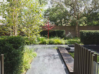 Large Garden in Chelsea, London:  Garden by Belderbos Landscapes