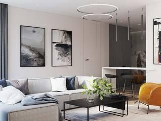 MIKOŁAJSKAstudio Modern Living Room