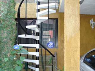 Escalera caracol SEVILLA HELIKA Scale Escaleras Hierro/Acero Multicolor