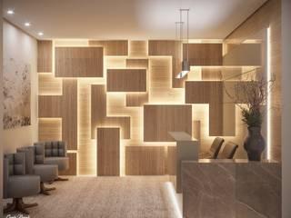 Clínicas y consultorios médicos de estilo moderno de Camila Pimenta | Arquitetura + Interiores Moderno