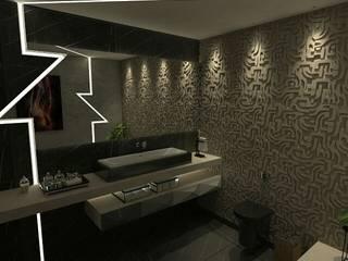 : Banheiros  por A7 Arquitetura | Design