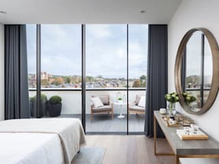 Dormitorios de estilo  de Design 121 Ltd, Moderno