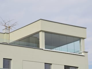 Schiebeverglasungen für Dachterrasse Schmidinger Wintergärten, Fenster & Verglasungen Moderner Wintergarten Glas Transparent