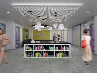 IKLIMA SENOL ARCHITECTURAL- INTERIOR DESIGN & CONSTRUCTION – ETÜT MERKEZİ:  tarz