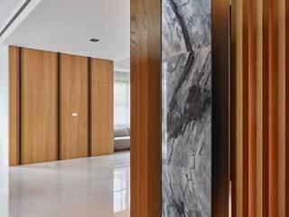 自地自建_莊園別墅 根據 澤序空間設計有限公司 簡約風