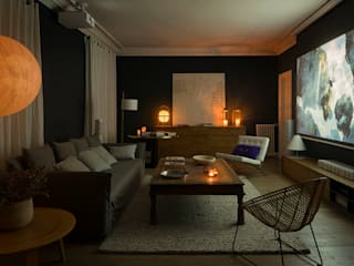 The Room Studio Scandinavian style media room