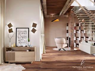 โดย Design studio TZinterior group โมเดิร์น