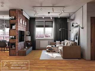 Гостиная в стиле модерн от Design studio TZinterior group Модерн