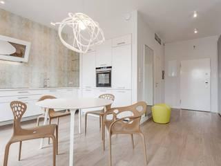 Cozinhas modernas por Biendesign Pracownia Wnętrz Moderno