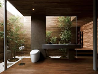 Colección TOTO: Baños de estilo  por TOTO
