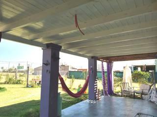 ECOS INGENIERIA Classic style conservatory Wood Purple/Violet