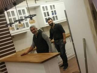 REYHAN MUTFAK I BANYO I DEKORASYON – VİLLA TADİLATI OVAAKÇA:  tarz Ankastre mutfaklar
