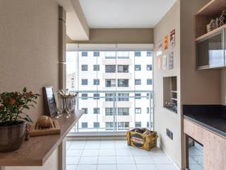 Balcones y terrazas de estilo moderno de Start Arquitetura Moderno