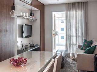 Salones de estilo moderno de Start Arquitetura Moderno