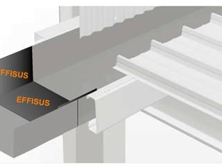 Effisus Titegutter3 โดย EFFISUS - Excellence in Weatherproofing Solutions โมเดิร์น