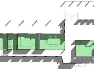 CASA 2 CONTENEDORES (no prefabricado) de BIM Urbano Minimalista