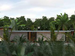 CASA PALMERA: Casas de estilo minimalista por JSM Arquitectos