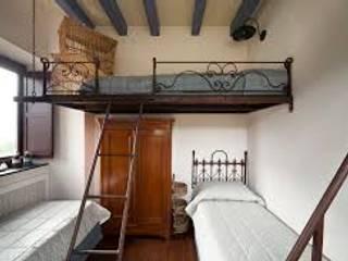 Устройство жилой антресоли: Спальни в . Автор – Стальные конструкции
