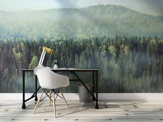 Fototapety REDRO: las na ścianie od REDRO Nowoczesny